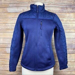 Swiss Tech Active-Wear Zip-Up Jacket, Sz Small
